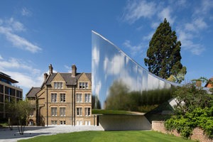 Investcorp Building for Oxford University's Middle East Centre at St Antony's College | Universities | Zaha Hadid Architects