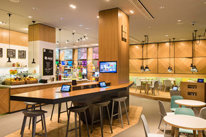 Microsoft Digital Eatery | Restaurant interiors | COORDINATION Berlin