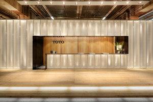 TOTO ISH Frankfurt | Installationen | MACH ARCHITEKTUR