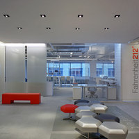 Fahrenheit 212, New York | Oficinas | David Howell Design
