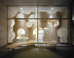 BOOLEAN (Tokyo University Tetsumon Cafe) | Café interiors | TORAFU ARCHITECTS