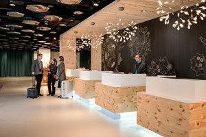 Swissôtel Lobby in Zurich | Intérieurs d'hôtel | IDA14