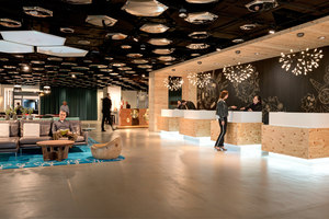 Swissôtel Lobby in Zurich | Hotel interiors | IDA14
