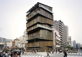 Asakusa Culture and Tourism Center | Edificios administrativos | Kengo Kuma