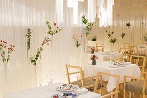 Nacrée | Restaurant interiors | Kengo Kuma