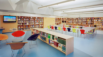 A. E. Smith High School Library | Musées | Atelier Pagnamenta Torriani