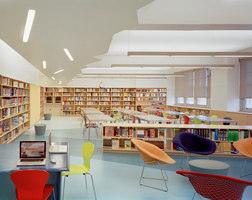 A. E. Smith High School Library | Museen | Atelier Pagnamenta Torriani