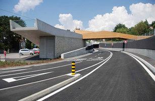 Passerelle Pietonne sur la route H10 | Bridges | maison d'art'chitecture