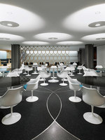 WGV Cafeteria | Café interiors | pfarré lighting design