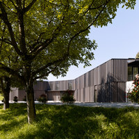 Library | game library and municipal administration | Spiez | Negozi | bauzeit architekten