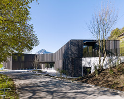 Library | game library and municipal administration | Spiez | Shops | bauzeit architekten