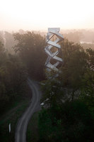Murturm Nature Observation Tower | Monuments/sculptures/viewing platforms | terrain:loenhart&mayr