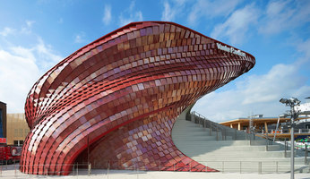 Vanke Pavilion for Expo 2015 in Milan | Temporary structures | Daniel Libeskind