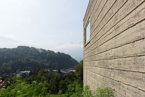 Rammed earth house, Rauch family home | Detached houses | Boltshauser Architekten