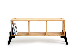 Tonic // Sideboard-Bookcase // Oak Wood | Short runs | Reinhard Dienes