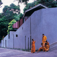 Walled monk's cell | Church architecture / community centres | Suriya Umpansiriratana