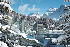 Wellness centre 'Tschuggen Bergoase' | Therapy centres / spas | Mario Botta