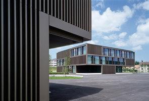 School «Le Marais du Billet», Cheseaux-sur-Lausanne | Schools | Graeme Mann & Patricia Capua Mann