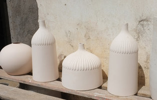 Lampion - pendular lamp in porcelain | Making-ofs | Studio Laura Strasser
