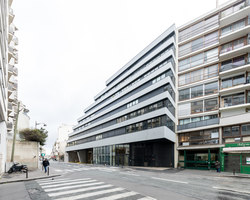 Dwellings rue Père Corentin | Apartment blocks | ecdm architects