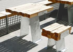 Konstfack Outdoor Café | Caffetterie - Interni | Studio Marcus Abrahamsson