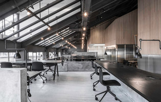 Flamingo Shanghai Office | Office facilities | Neri & Hu Design and Research Office