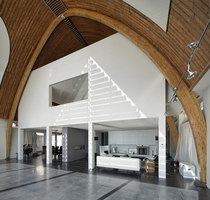 House in a church | Detached houses | Ruud Visser. Architect.