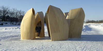 Winnipeg Skating Shelters | Temporary structures | Patkau Architects