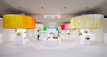 Installation for FURLA / hanami | Shop interiors | Emmanuelle Moureaux Architecture + Design