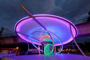 IMPULS – Lichtkunstbühne für Bochum | Installations | leichtbaukunst