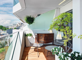 PRIVATE APARTMENT | Milan's CityLife complex | Living space | Marco Piva