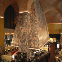 Cappa Mazzoniana, Convoglia restaurant (Stazione Termini) | Caffetterie - Interni | Maurizio Rossi Lighting Design
