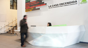 Light/Texture/Motion at Casa Encendida | Museums | LDC | Lighting Design Collective