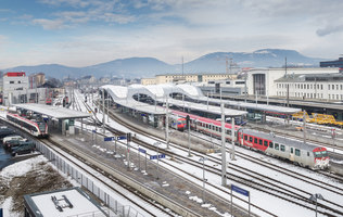Graz Main Station Redeveloped | Gares | Zechner & Zechner ZT GmbH