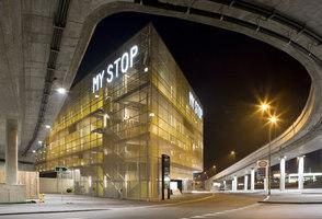 autobahnraststätte 'my stop' | Costruzioni infrastrutturali | Hotz Partner AG