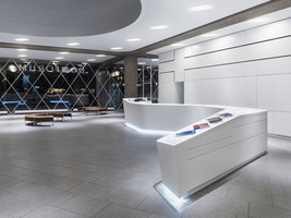 Umbau des Domforums Köln | Manufacturer references | DuPont Corian