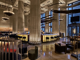 Nobu Downtown | Restaurant interiors | Rockwell Group