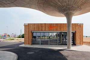 Gas Station | Infrastructure buildings | atelier SAD