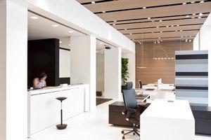 Showroom Blue Milano di Fantoni Group | Herstellerreferenzen | Fabbian