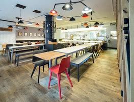 Restaurant Lamoraga | Manufacturer references | Zeitraum