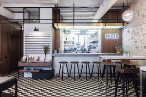NUDE. Coffee & Wine Bar | Referencias de fabricantes | Zeitraum
