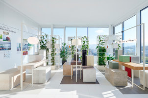 Showroom Garden - Skyscraper Aglaya | Negozi - Interni | KEPENEK