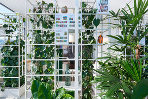 Showroom Garden - Skyscraper Aglaya | Shop interiors | KEPENEK