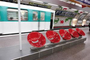 Metrò Porte de Versailles | Manufacturer references | Léa Ceramiche reference projects