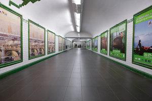 Metrò Porte de Versailles | Manufacturer references | Lea Ceramiche