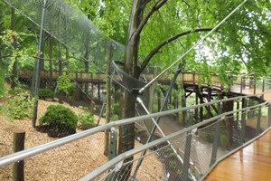 Leopardengehege Ree Park | Manufacturer references | Carl Stahl