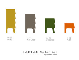 TABLAS Collection | Prototypes | Gabriela Bellon
