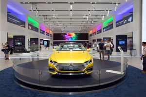 Drive. Volkswagen Group Forum | Stands de feria | macom | AudioVisual Design
