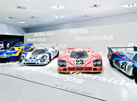 New Porsche Museum | Musées | macom | AudioVisual Design