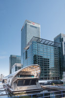 Crossrail Place at Canary Wharf | Estructuras temporales | Arup